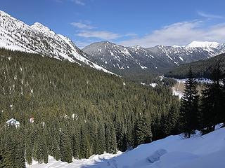 PCT northbound from Stevens Pass 3/15/20