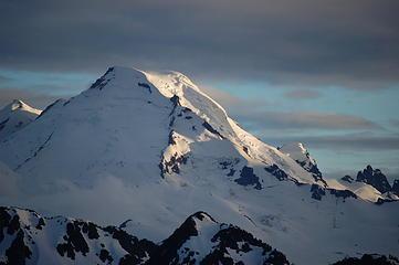 Mt. Baker in evening light