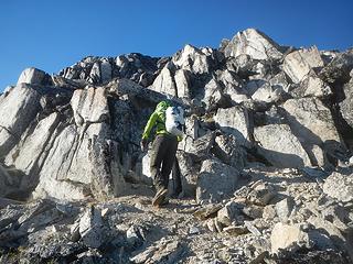 Madhorse Mountain west ridge