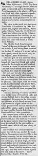 1993 Crawford Lake