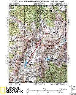fisher's notch route topo