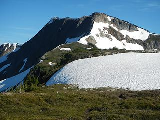 Easy Peak and snow formation