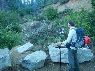 """Thompson Point """"trail"""""""