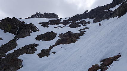 Steep Snow to the Col