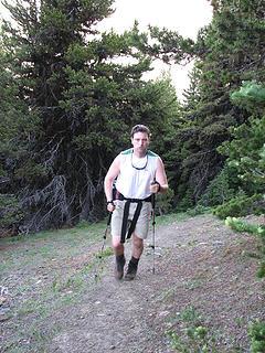 Jeremy, the climbing machine!