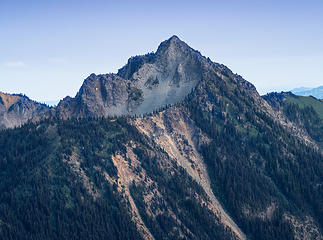 Tamanos Mtn from Yakima Park (Aug)
