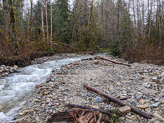 Granite Creek confluence