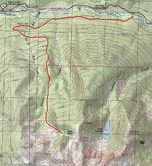Ruth lake route