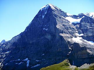 Eiger From Lauberhorn Summit