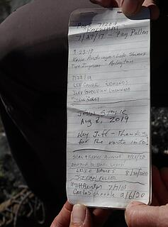 Kaiwhat register, but I misdated it, my previous visit was actually 7/20/2005