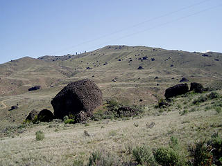 Haystacks from McNeil Canyon Road -  Duane Wright photo