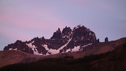 Sunrise over Cerro Castillio