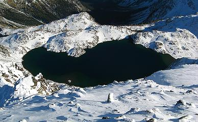 Upper Ice Lake from Maude