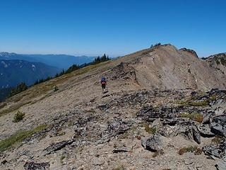 ridge above Lillian