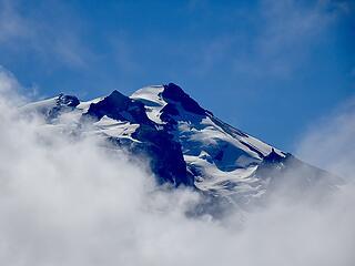 Glacier summit