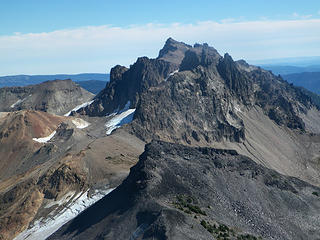 Goat Citadel and Gilbert Peak