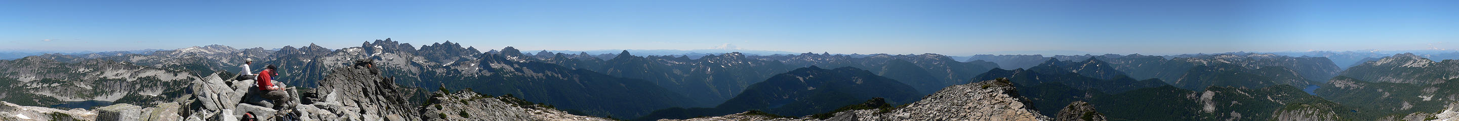 Panorama from Big Snow Mtn. 8.13.06.