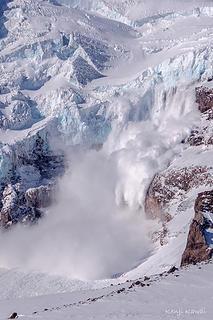 Ice Fall on Rainier