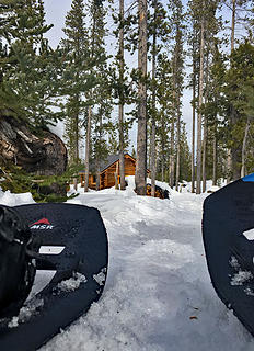 Swampy Hut Snowshoe 2/1/18