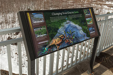 Glines overlook sign #4