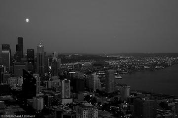 Seattle from Space Needle