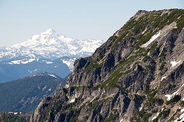 Glacier Peak from La Bohn area