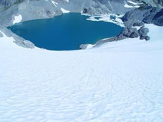 Lynch Glacier, Pea Soup lake
