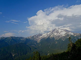Thunderheads over Glacier Peak
