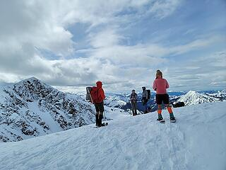 Summit shin-dig on North Chiwaukum