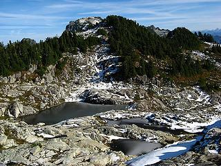 Central Basin Tarns, with Index summit beyond