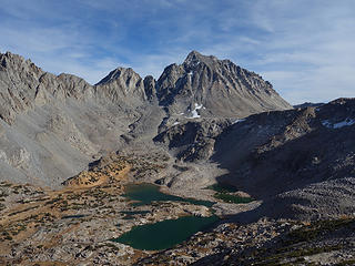 Mt Agassiz and Bishop Lakes  John Muir Wilderness, CA