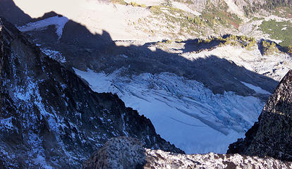 Glacier from the summit