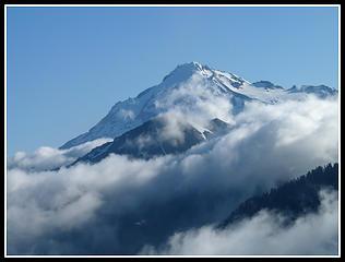 Glacier Above Clouds