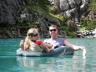 Schmidt Altitude floating the 'berg