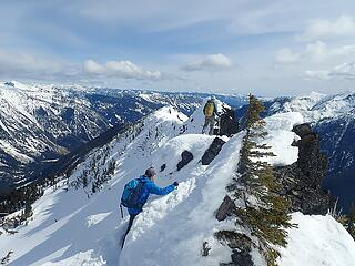 Negotiating the summit ridge