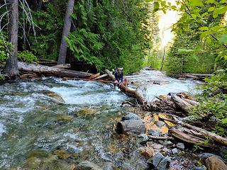 Trout Creek crossing