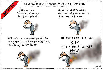 Michael Leunig_Pants on Fire