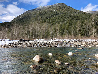 North Fork Skykomish River 2/25/19
