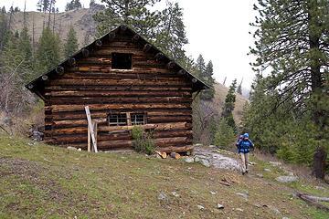 McCrea cabin along the West Fork Rapid River Trail, Seven Devils Mountains, Idaho.