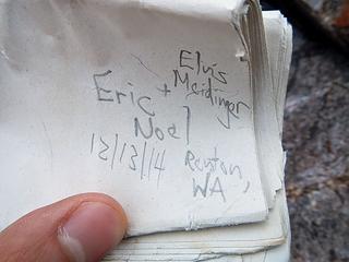 Eric Noel entry