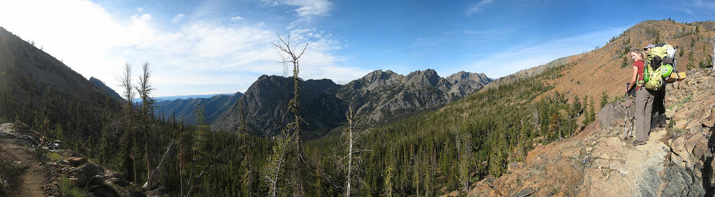 On the trail to Ingalls Pass
