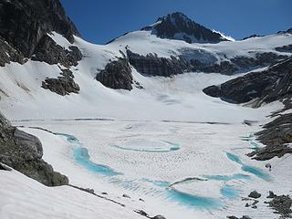 Glacial Lake below Lucky Pass