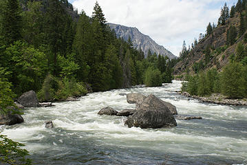 Wenatchee River, Tumwater Canyon
