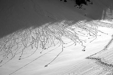 Snowball track art