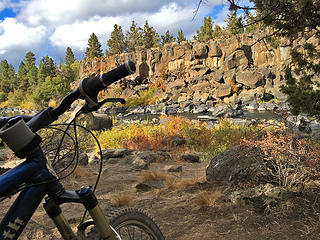 First time getting the good mtn bike out on the trails of Bend. Sawyer and Riley Ranch Bend OR