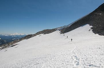 Mt Hinman north snowfield