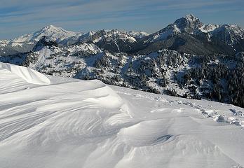 Glacier & Twin Peaks, Bedal, Sloan