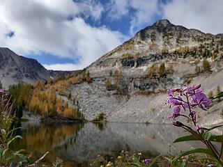 Johnny Peak from Johnny Lake