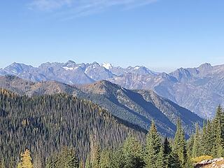 Glacier Peak in the distance to the west