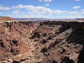 Gosseberry canyon proper
